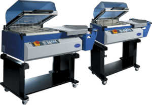 Photo of shrink wrapping machine
