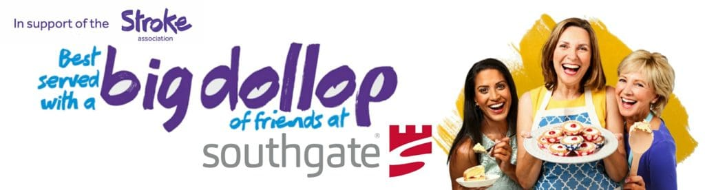 Southgate Supports Stroke Association