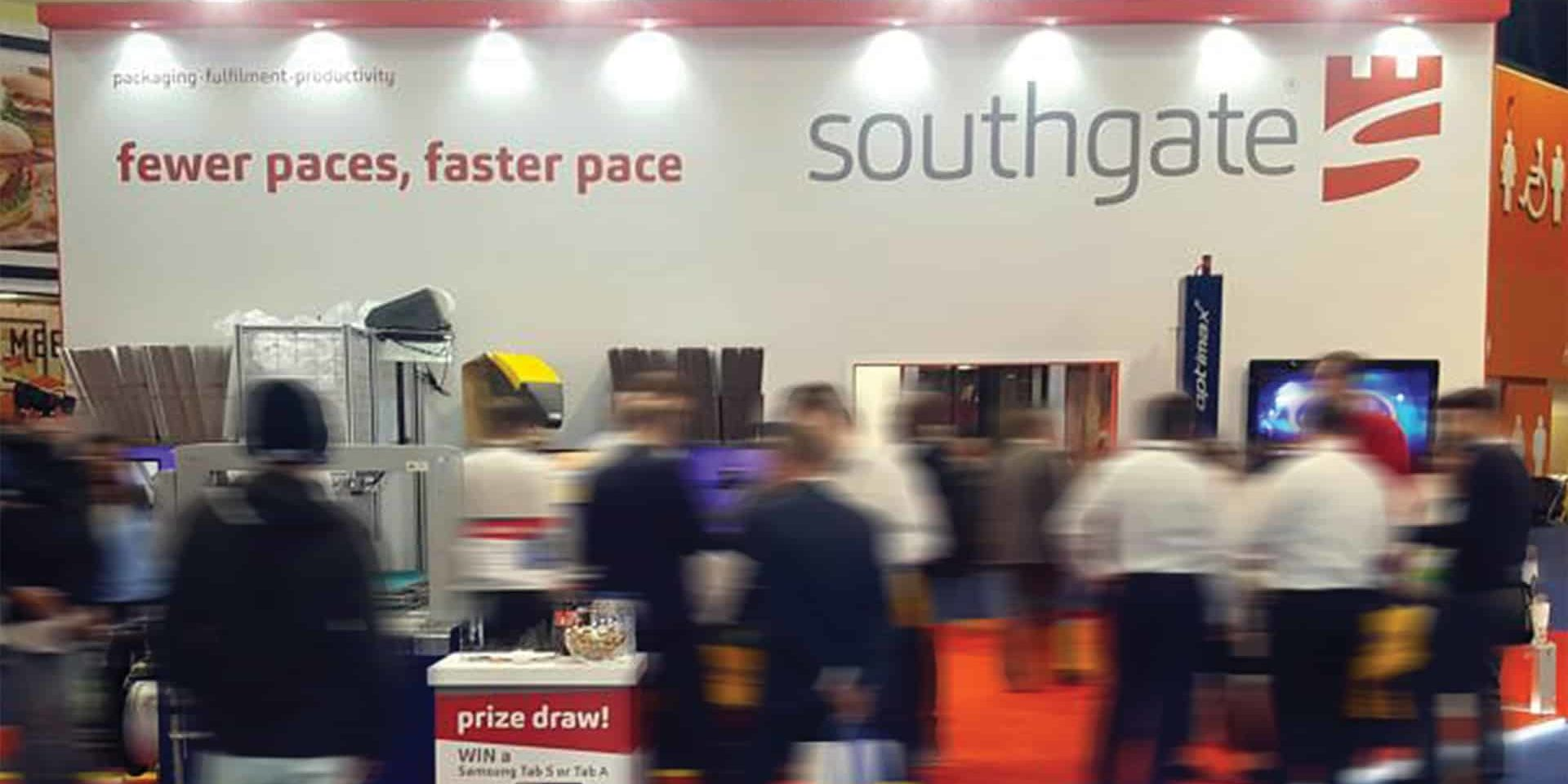 Photo of Southgate's stand at the 2018 multimodal event